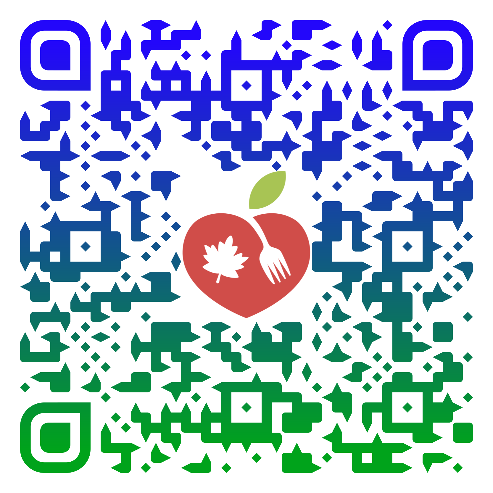 Maple Valley Food Bank QR code
